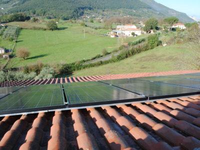 Impianti fotovoltaici casa di campagna Segni