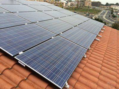 Impianti fotovoltaici villa bifamiliare Roma