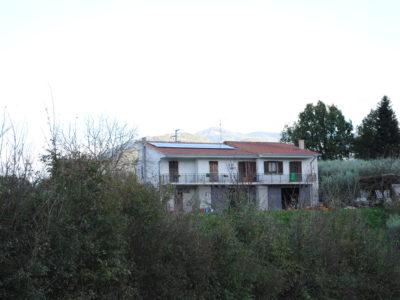 Impianto Fotovoltaico casa in campagna a Segni (Roma)